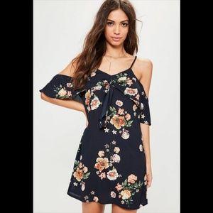 Missguided off-the-shoulder Dress